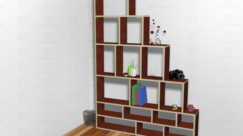 mueble moderno 3D modelo Compro - render