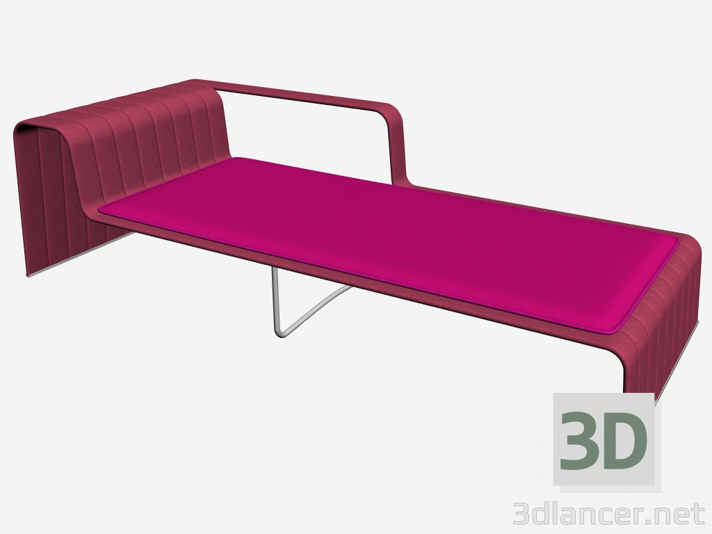 3d model chaise frame b18md manufacturer paola lenti for Chaise modele