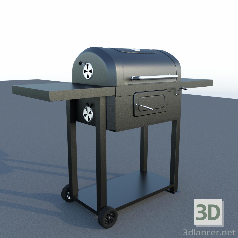 3d Barbecue model buy - render