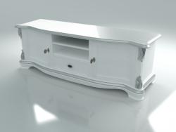 टीवी स्टैंड (कला। 13111, सफेद)