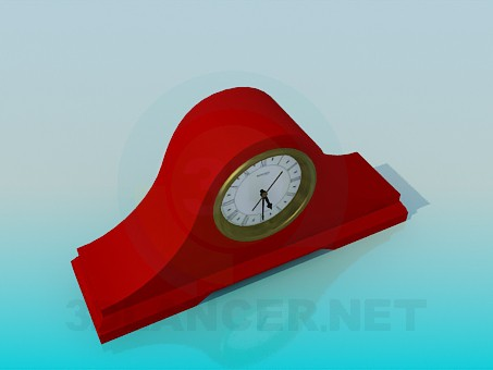 modelo 3D Reloj interior - escuchar