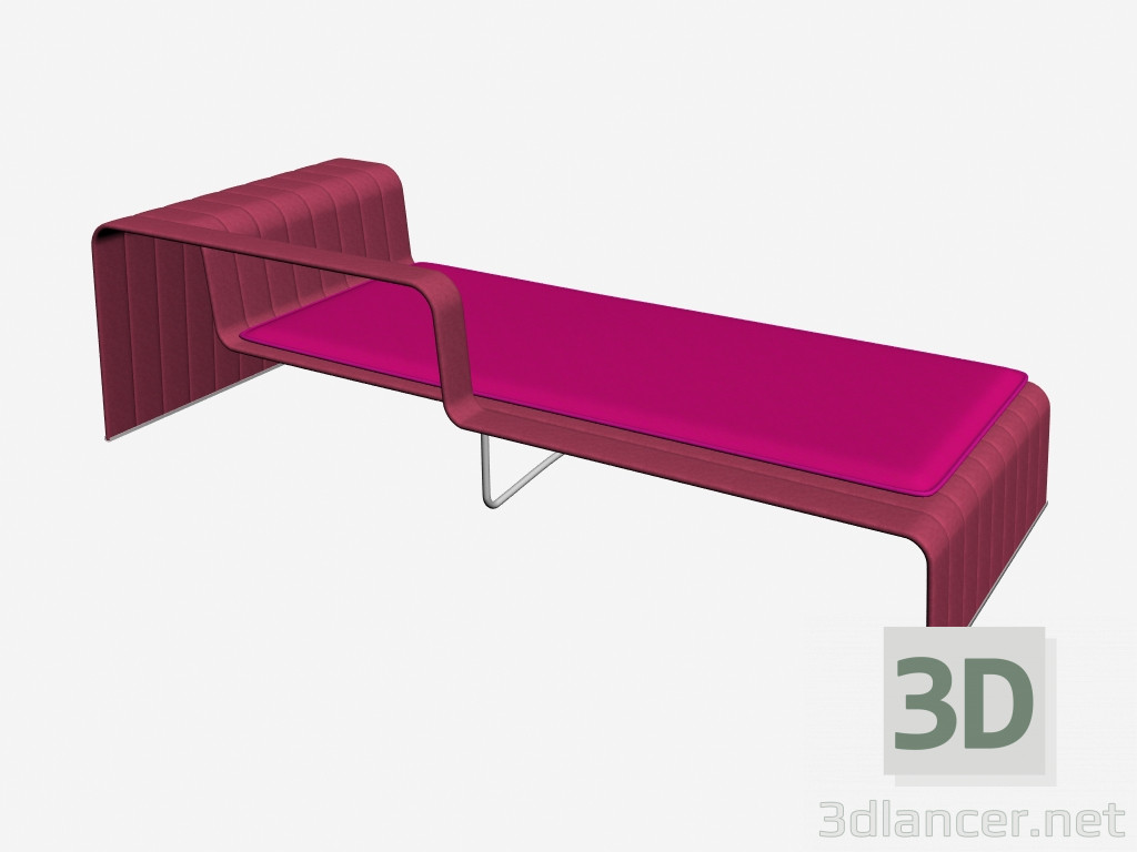 3d model furniture paola lenti for Chaise game free download