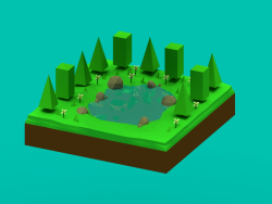 Low Poly Floresta