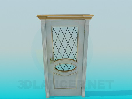 3d modeling Door entrance model free download