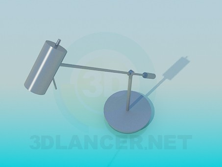 3d model Table lamp cylinder - preview