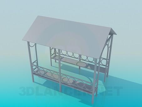 modelo 3D Mirador - escuchar