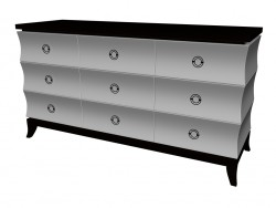 Chest of drawers (9 drawers)