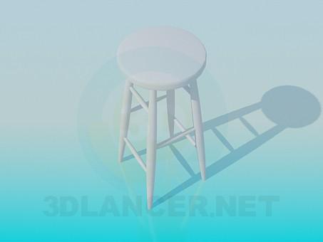 3d modeling Stool model free download