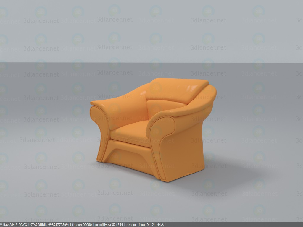 3d Chair of the BRW model buy - render