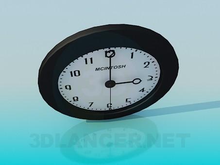 3d модель Настенные часы – превью