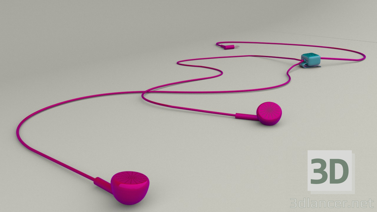 3d model Cell phones Lg - preview