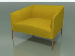 Armchair 2722 (90 cm, Teak effect)