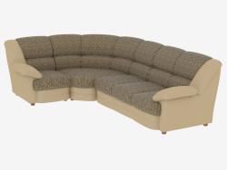 Кутова диван-ліжко