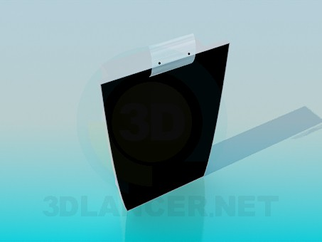 3d modeling The mirror on the wall model free download