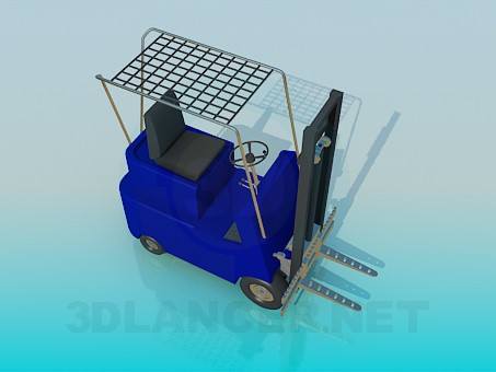 3d model Car-lifter - preview