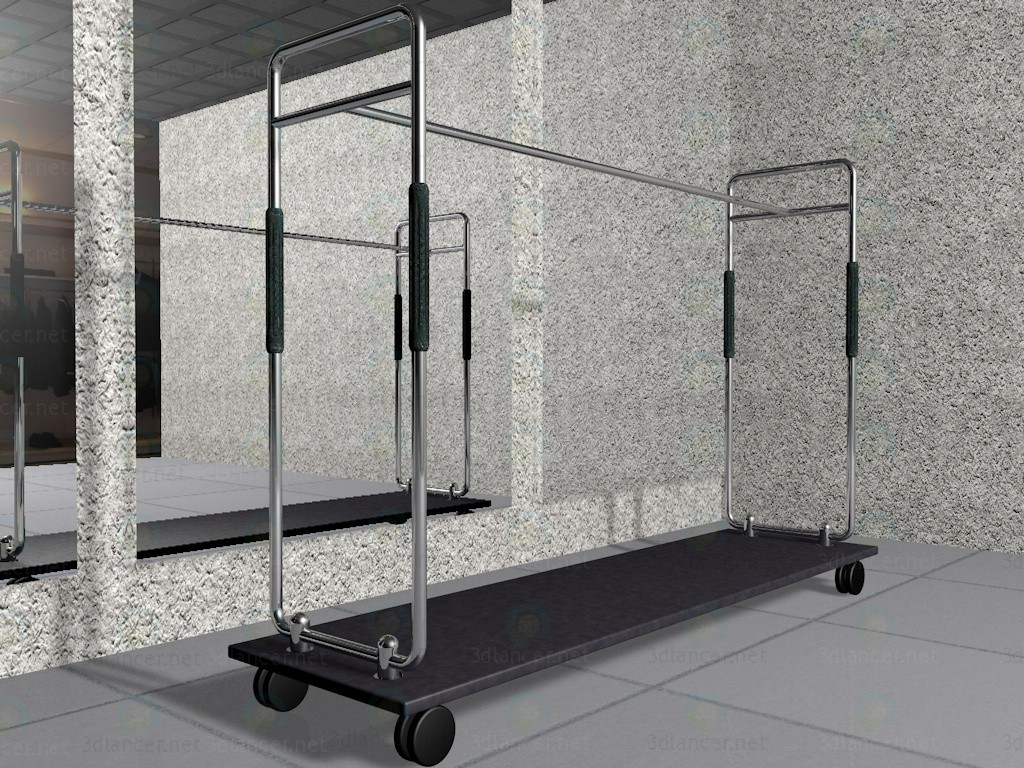 3d model Clothes rack, 3ds, c4d, - Free Download | 3dlancer net