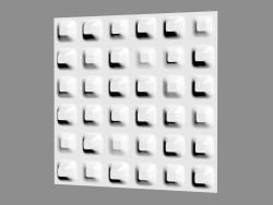 Chaos del pannello 3D