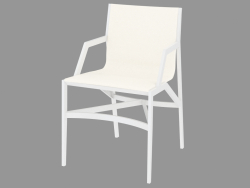 Dining chair with leather upholstery 472 PILOTTA