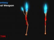 3D-фантазия Волшебное оружие - игровой актив