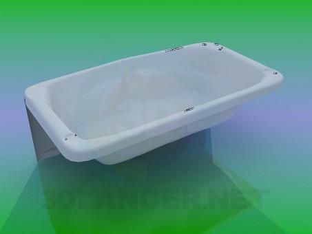 3D modeli Banyo - önizleme