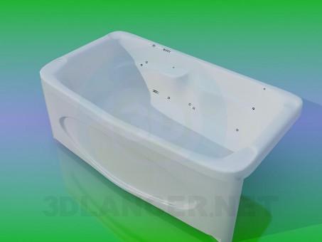 3d модель Ванна – превью