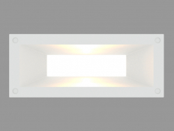 Recessed wall light LINK HORIZONTAL (S4685)