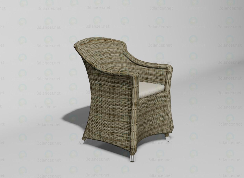 3d модель Ponte крісло – превью