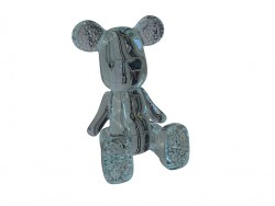Piggy Funky Bear Crystal Sit