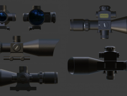 Optical sight 2.5-10X