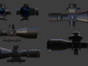 Optical sight 2.5-10X