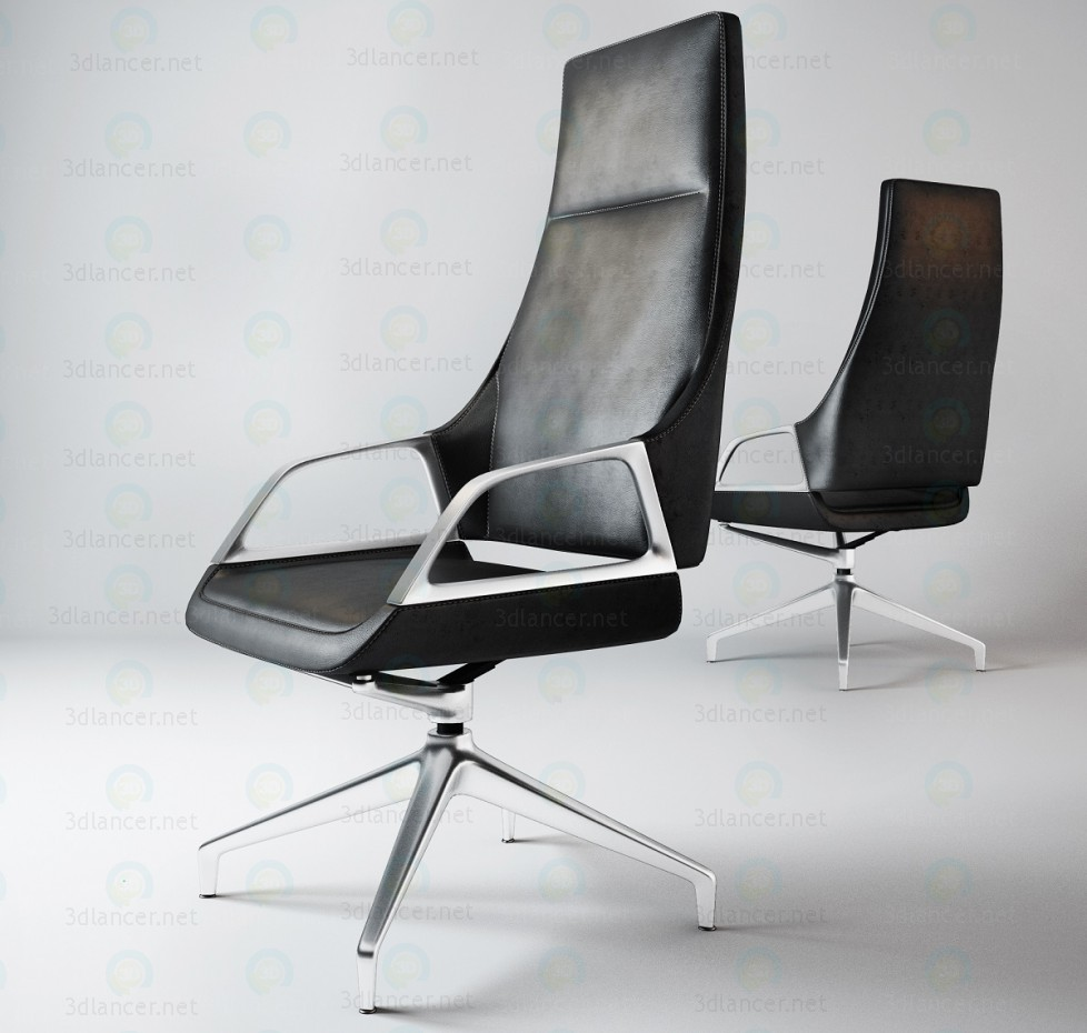3d modeling Conference-chair model free download