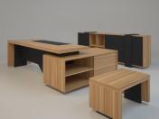 Los muebles en el estudio