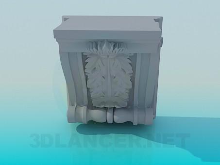 3d modeling Fretwork model free download