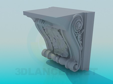 3d model Fretwork - preview