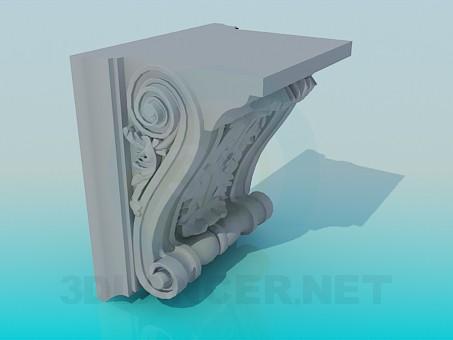 3d модель Ліпнина – превью