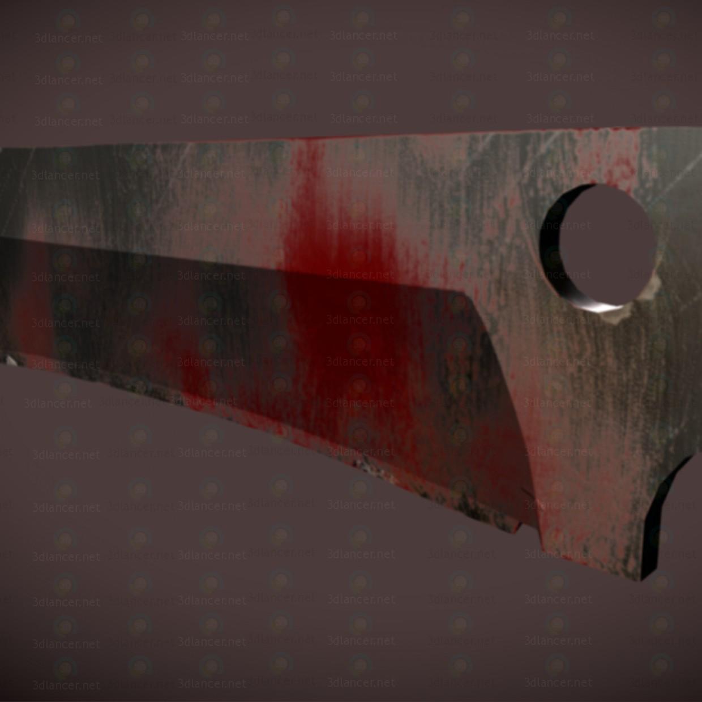 3d SAR knife zombie-crasher model buy - render