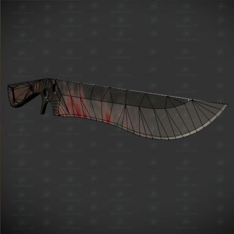 Cuchillo SAR zombi-intruso 3D modelo Compro - render