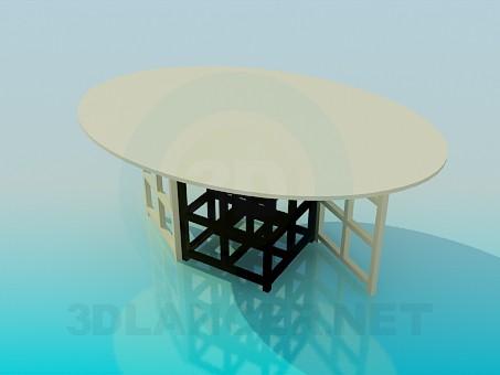 3d model Mesa - vista previa