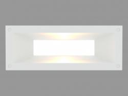 Recessed दीवार प्रकाश MEGALINK HORIZONTAL (S4695)