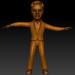 3d Elvis Dancers model buy - render