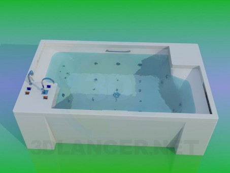 modèle 3D Jacuzzi - preview