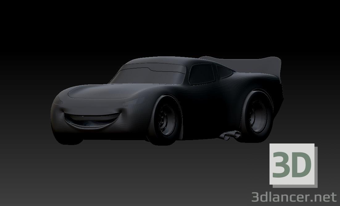3d Mcqueen model buy - render