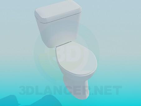 3d model Simple baño con tina - vista previa