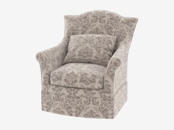 Cornice Charlotte Storm Skirted Swivel