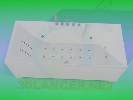 modello 3D Vasca idromassaggio - anteprima
