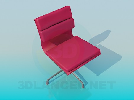 3d modeling Armchair with soft inserts model free download