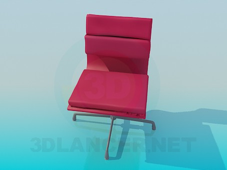 3d model Armchair with soft inserts - preview