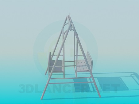 3d model Swing - preview