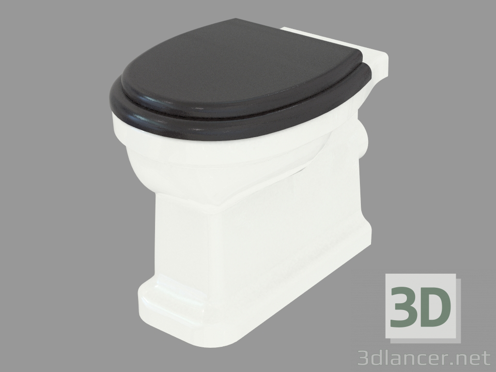 3d model Toilet bowl Blues manufacturer Devon & Devon ID 22325