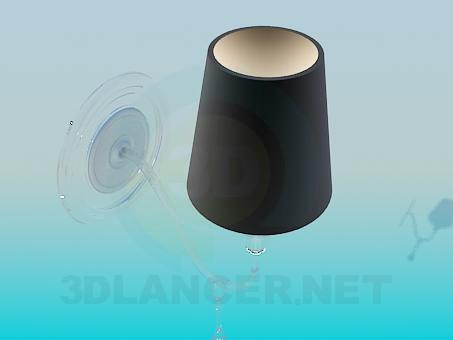 3d моделирование Лампа на стену модель скачать бесплатно